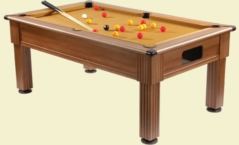 Supreme Slimline Prince Traditional Pool Table