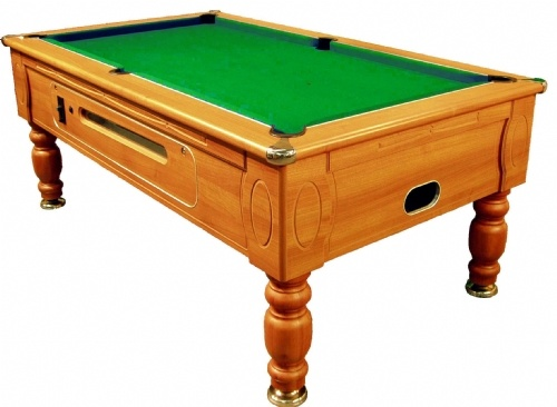 Optima Coin Operated Pool Table