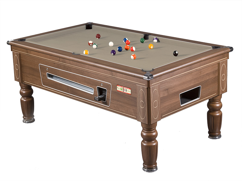 Prince Coin Operated Pool Table