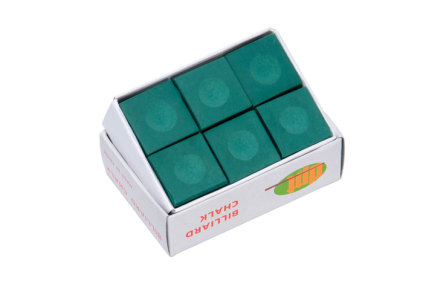 6x Billiard Chalk