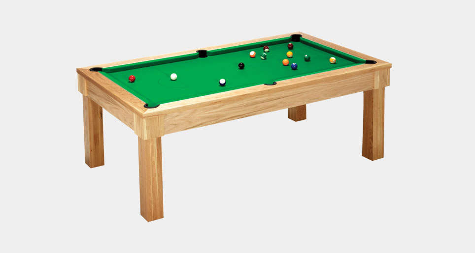 Unique Hardwood Pool Table